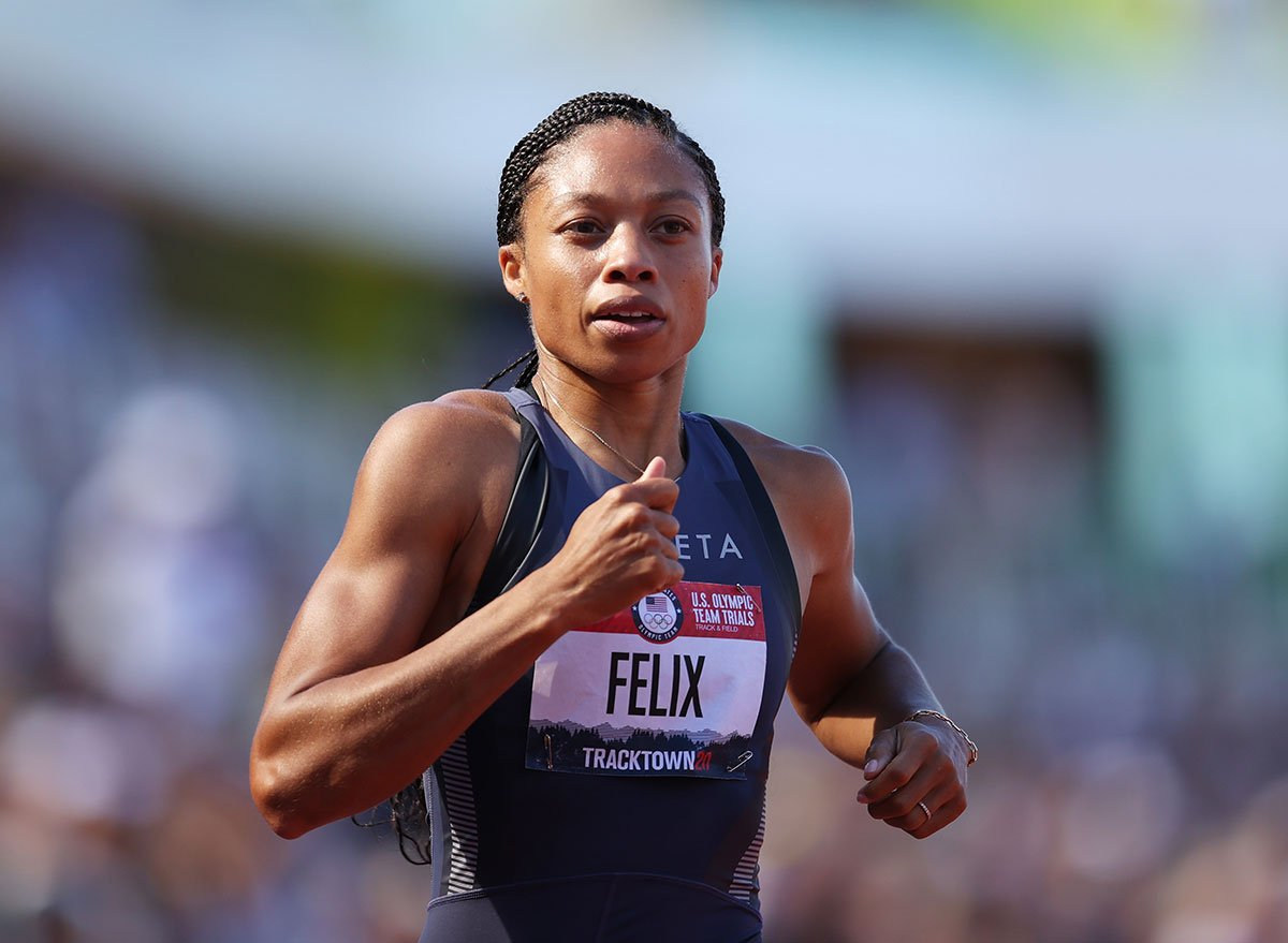 This Is the Exact Breakfast, Lunch, and Dinner Gold Medalist Allyson Felix Eats to Stay Fit