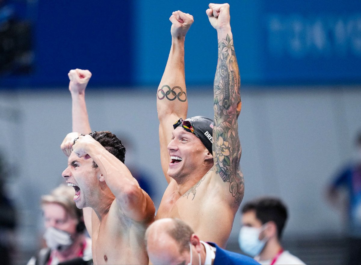 This Is the Exact Breakfast, Lunch, and Dinner Gold Medalist Caeleb Dressel Eats to Stay Fit