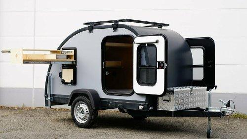 *Sonderangebot* MINIATOURING Teardrop Camper Mini Wohnwagen