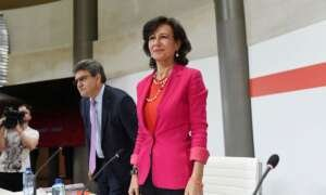 El Santander prescinde del 10% de su plantilla en Europa en un año