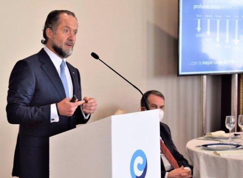 """Escotet bendice los fondos Next Generation: son una """"oportunidad"""" para la """"transformación económica"""" » Galicia"""