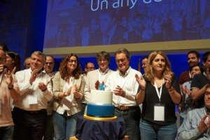 Mas y Homs acaparan el millón de euros de la Caja de Solidaridad