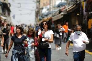 Israel acaba con el uso obligatorio de la mascarilla al aire libre