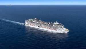 MSC recupera su actividad en el Puerto de Valencia tras 16 meses sin cruceros