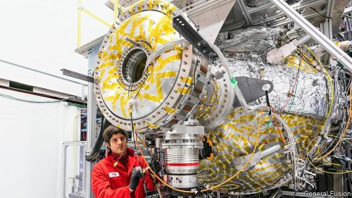 The race to build a commercial fusion reactor hots up