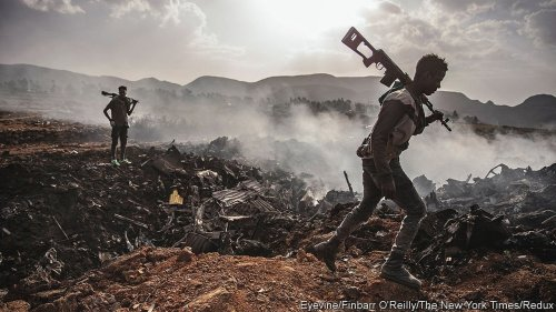 In Ethiopia's civil war, Tigrayan forces take the offensive