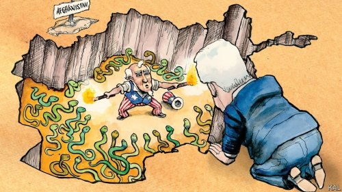 Joe Biden's offers unconvincing reasons for ending America's longest war