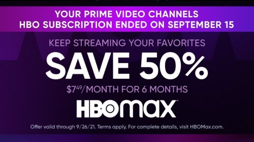 HBO Max is About to Lose 5M Subscribers on Amazon