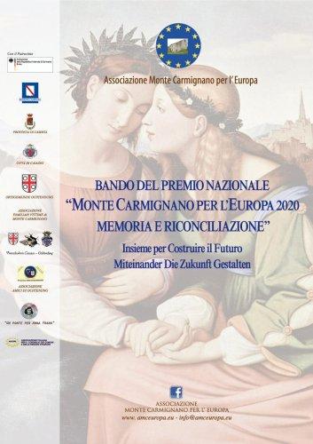 """Il Bando del Premio di Storia """"Monte Carmignano per l'Europa"""" 2021"""