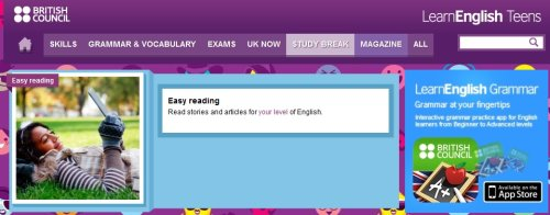 The British Council Has Excellent Leveled Reading Resources
