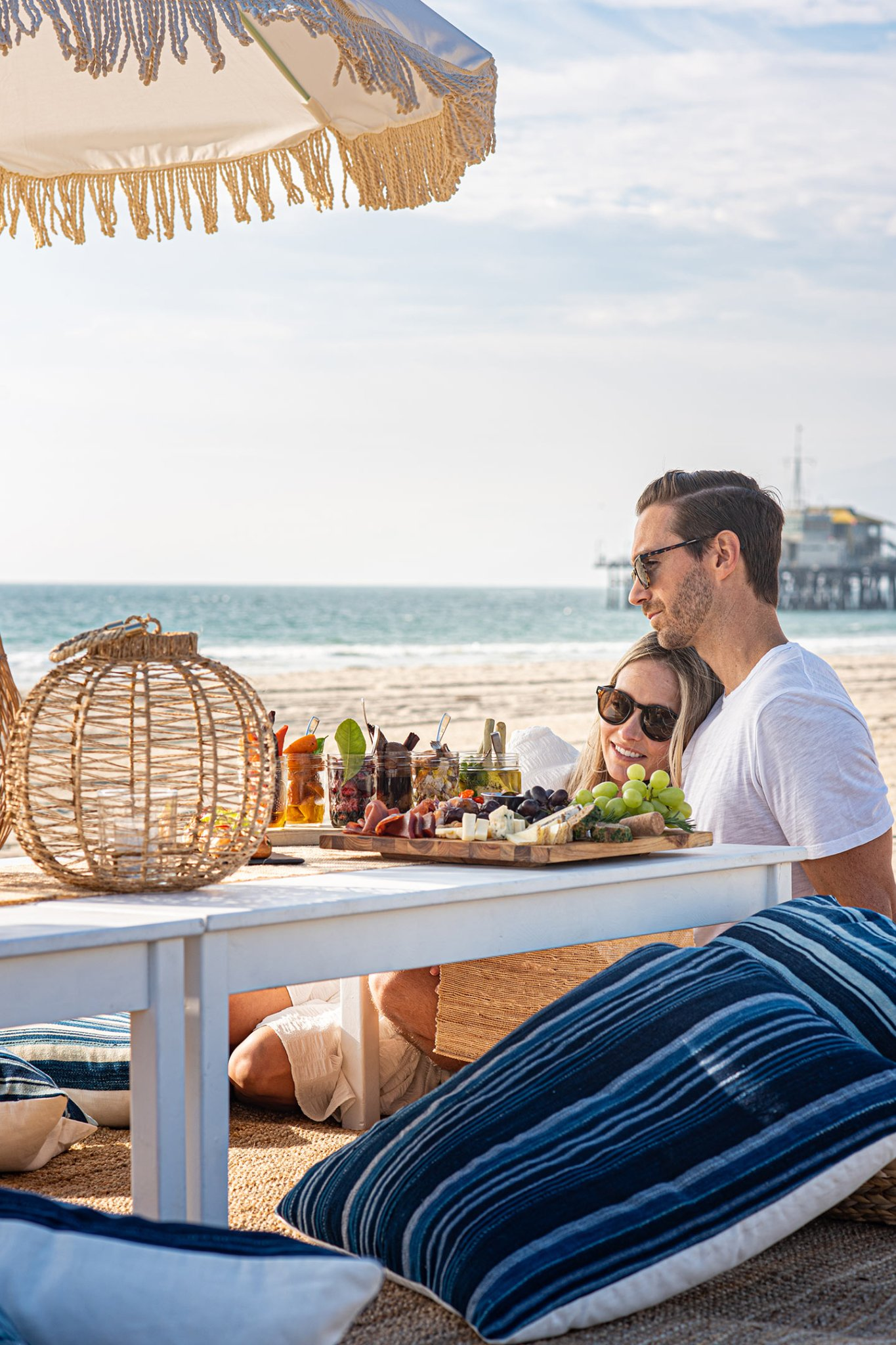 Picnicking is a dream at Shutters on the Beach and Hotel Casa del Mar, Santa Monica. - Waves