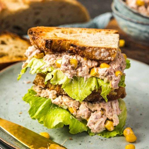 Super einfacher und blitzschneller Thunfischsalat mit Mais - Eine Prise Lecker