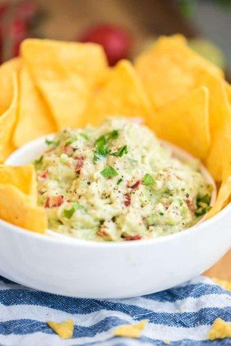 Super einfache Guacamole - der beliebte mexikanische Avocado-Dip