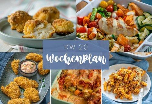 Wochenplan KW 20 - das essen wir diese Woche - Einfach Malene
