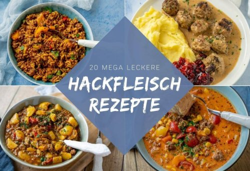 Diese Hackfleisch-Rezepte musst du unbedingt ausprobieren