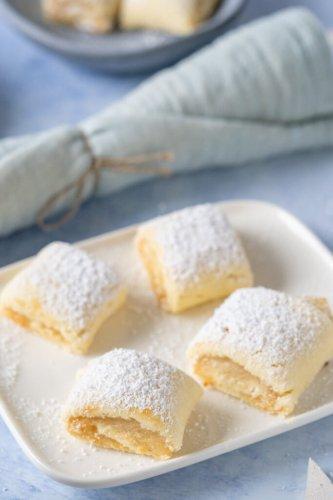 Marzipankissen – die besten Marzipan Mürbeteig Kekse