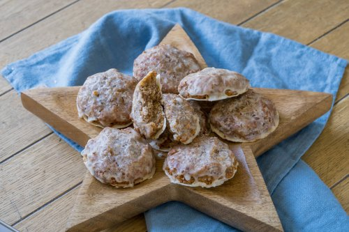 Super leckere Marzipan Lebkuchen - super einfaches Rezept - Einfach Malene