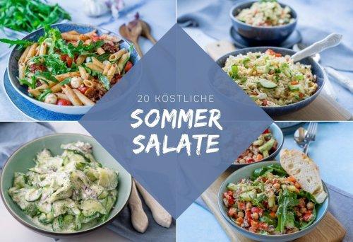 Diese 20 Sommersalate muss du unbedingt probieren - Einfach Malene