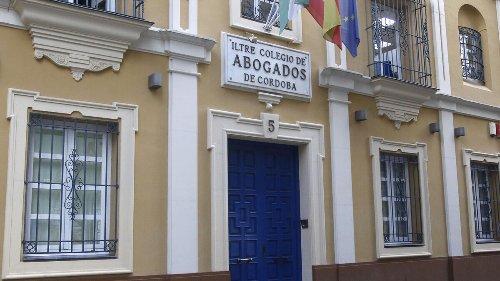 Tres candidaturas optan al decanato del Colegio de Abogados de Córdoba