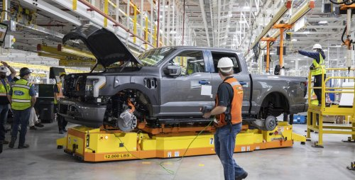 Ford starts pre-production of F-150 Lightning electric pickup as the race heats up