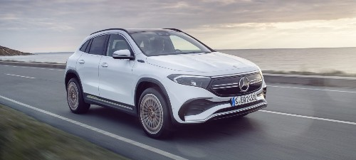 Mercedes-Benz unveils EQA electric SUV with 265 miles of range and ~$46,000 price - Electrek