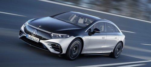 Mercedes-Benz EQS electric luxury sedan is now fully unveiled - Electrek