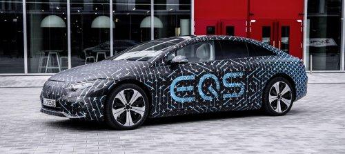 Mercedes-Benz unveils EQS specs: up to 478 miles of range on big 108 kWh battery pack - Electrek