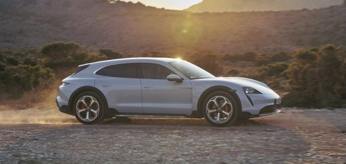 Porsche unveils Taycan Cross Turismo: a $90,000 more-practical version of the performance electric car - Electrek