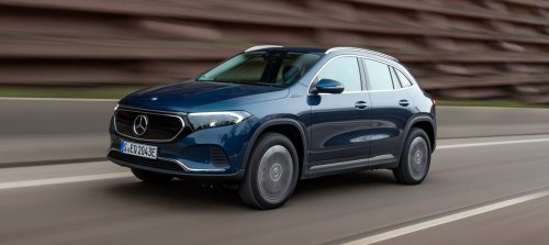 Mercedes-Benz launches 2 new all-wheel-drive versions of the EQA electric crossover - Electrek