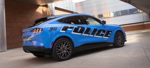 Ford Mustang Mach-E passes Michigan State Police test