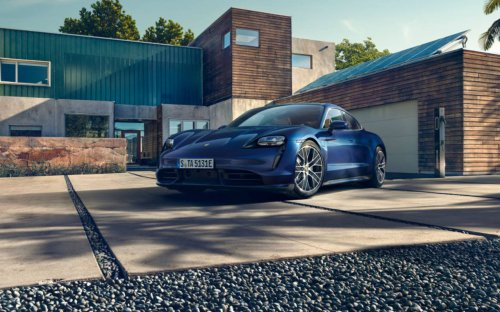 Turo car sharing service touts its EV offerings in a splashy partnership with Porsche