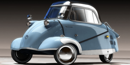 Neuauflage: Messerschmitt Kabinenroller mit E-Antrieb - electrive.net