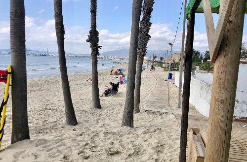 Comienza la temporada de playa en Palmones