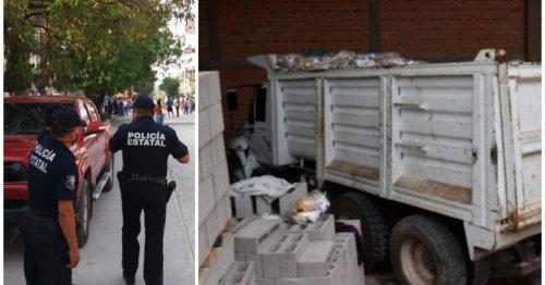 Aseguran camión con despensas en bodega municipal de Mexquitic