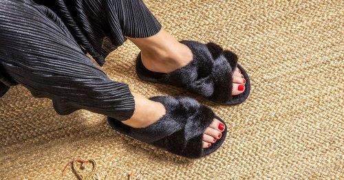Gemütlicher Modetrend: Faux Fur Hausschuh-Slides von Flip*Flop