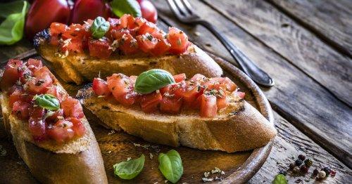 Blitz-Rezept: Diese veganen Tomaten-Bruschette aus Italien schmecken allen!