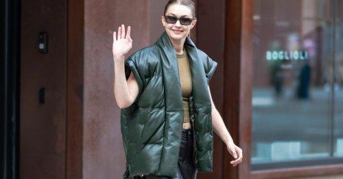 Modetrend von H&M bis Mango: Diese Steppwesten trägt im Herbst 2021 jede:r – sogar Gigi Hadid!