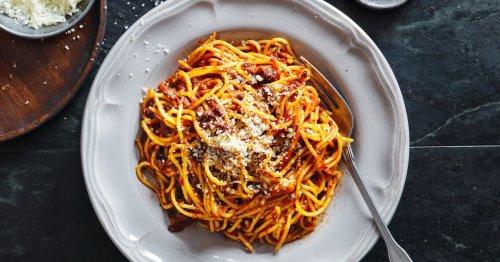 Rezept: Mit dieser Geheimzutat werden Spaghetti Bolognese noch besser!