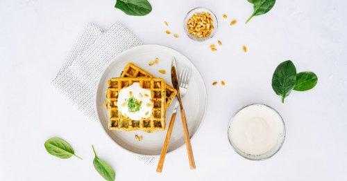 Rezept: Vegane Spinatwaffeln werden der nächste große Food-Trend!