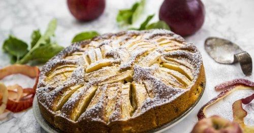 Dieses Rezept für Apfelkuchen mit Quark ist im Herbst einfach perfekt!