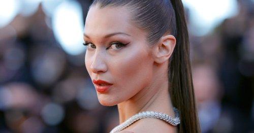 Ihr Ernst? Bella Hadid trägt krasse Blocksträhnchen! Über diesen Frisuren-Trend müssen wir reden!