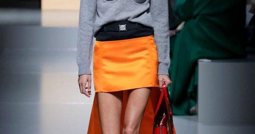Modetrend: Strick und Satin sind die schönste Trend-Kombi im Herbst und Winter 2021