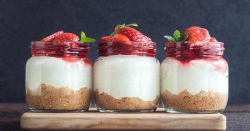 Erdbeer-Butterkeks-Dessert – das einfachste Rezept der Welt!