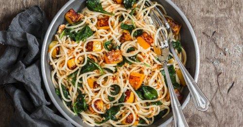 Süß und herzhaft: Dieses Rezept für Spaghetti mit Kürbis ist perfekt gegen Herbstblues