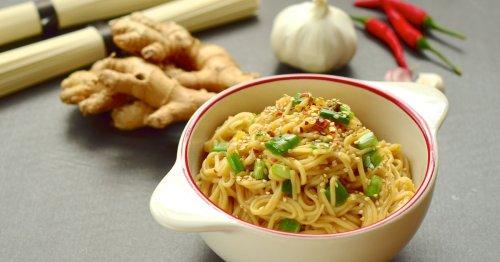 Rezept für asiatische Sesam-Nudeln – schneller als der Lieferservice!