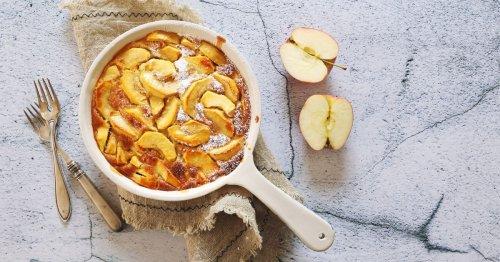 Herbstliches Comfort Food: Rezept für schnelle Apfel-Zimt-Clafoutis