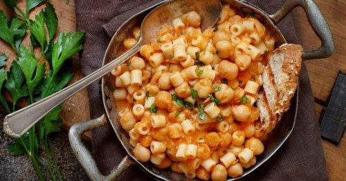 Pasta e Ceci: Dieses Pasta-Rezept geht schnell und ist Soulfood für kalte Herbsttage!