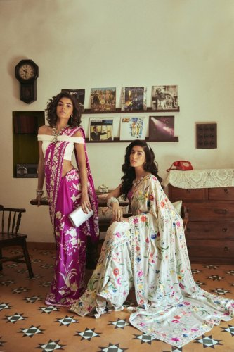 Woven In Time: The Story Of The Parsi Gara Sari