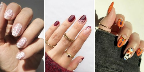 30 Spooky and Stylish Halloween Nail Art Trends to Try This Year | Elle Canada