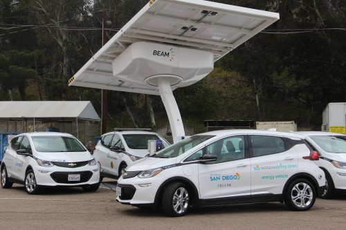 Mayor Gloria Begins Pilot Program To Charge City Vehicles With Solar Power